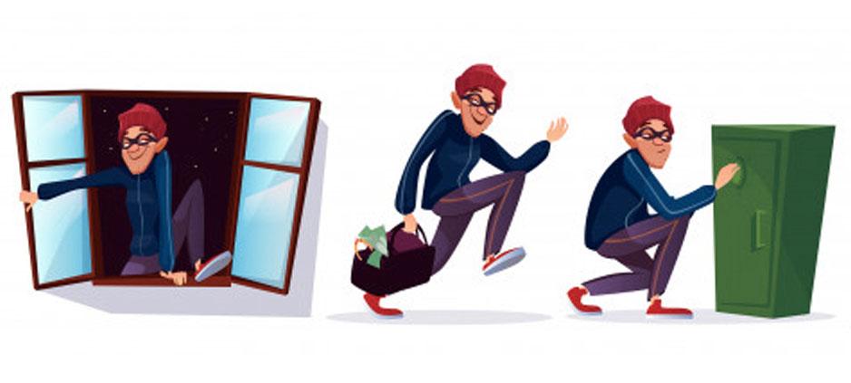 como prevenir robos en casa